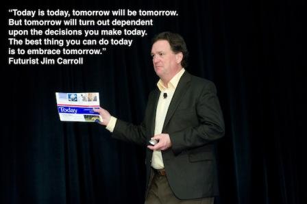 Jim Carroll-today