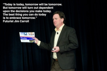 Jim Carroll-today